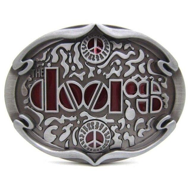 1de4a2c5efd T-DISOM Nouvelle Arrivée Western Boucles De Ceinture Portes Rock Musique Ceinture  Boucle Pour Hommes