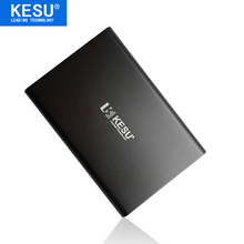 Original KESU 2 5 Metal Slim Portable External Hard Drive USB 3 0 120GB Storage HDD