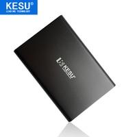 Original KESU 2 5 Metal Slim Portable External Hard Drive USB 3 0 120GB Storage HDD