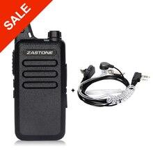 Zastone ZT-X6 Mini Walkie Talkie with Headset 400-470Mhz Frequency UHF Handheld Radios Comunicador Portable Two Way Ham Radio