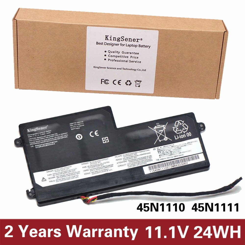 11.1V 24WH KingSener New Internal Battery for Lenovo ThinkPad T440 T440S T450 T450S X240 X250 X260 X270 45N1110 45N1111