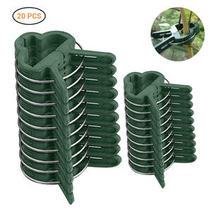 Connector-Clip Stakes Pole Greenhouse-Bracket Seedling-Stem-Support Plants-Flower Grafting
