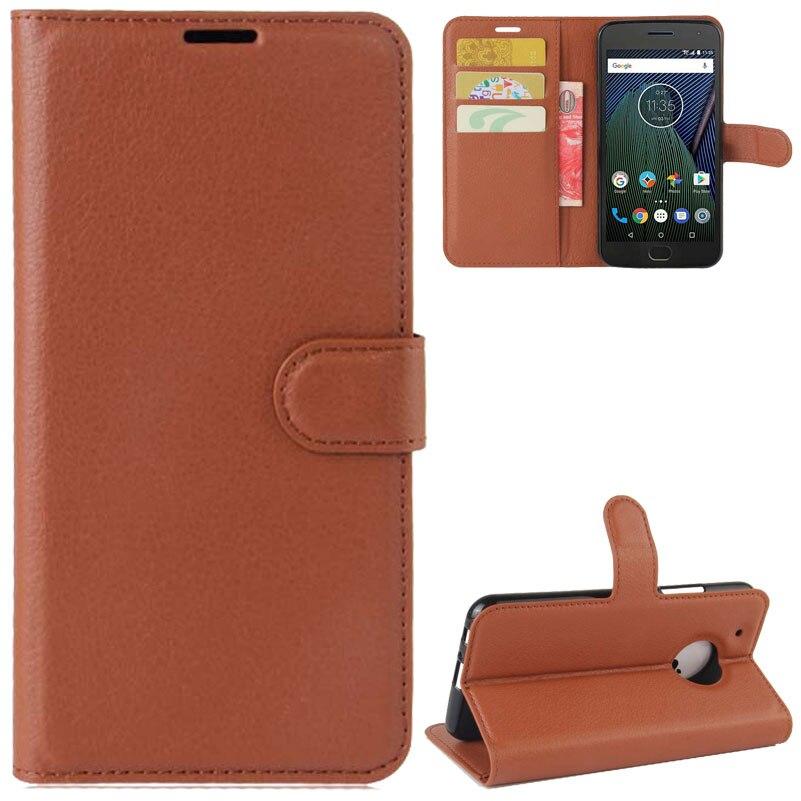Yinghui личи кожи кожаный чехол для телефона для MOTO G5 плюс защитный свет Вес ультра тонкий практичная сумка