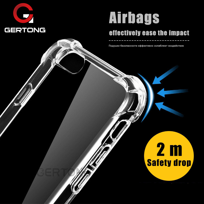GerTong Funda Coque For apple iPhone 7 Case Bumper Ultra Thin Housing 360 Shockproof Sil ...