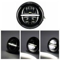 5.75 5 3/4 LED Headlight Head Light For Harley Sportster Dyna Softails