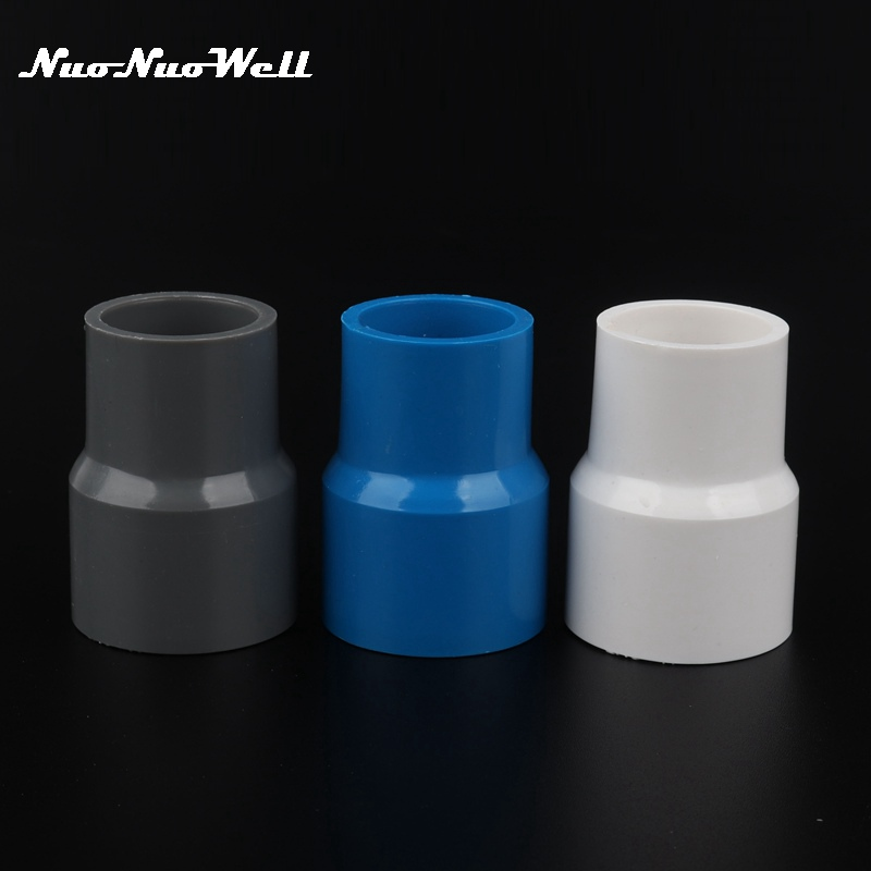 2pcs 50mm x 20//25//32//40mm Water Pipe Straight Connector Adapter Slip x Slip