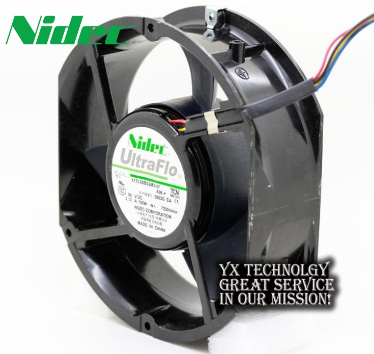 все цены на  Nidec  Original authentic X17L50BS2M3-07 15CM 50V 3.12A violence cooling fan for Nidec 170 * 150 * 50mm  онлайн