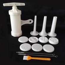 9 форм Паста Лапша производитель машина резак для свежих спагетти кухня кондитерских Noddle приготовления инструменты для приготовления пищи Кухонные Принадлежности