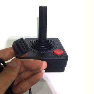 Image 2 - Manette de jeu de contrôleur classique rétro pour le système de Console Atari 2600 noir