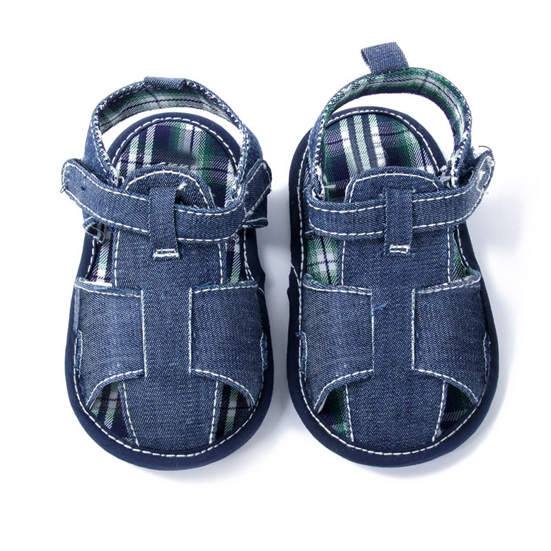 Fashion Blue baby sandal shoes baby shoes Clogs Sandals