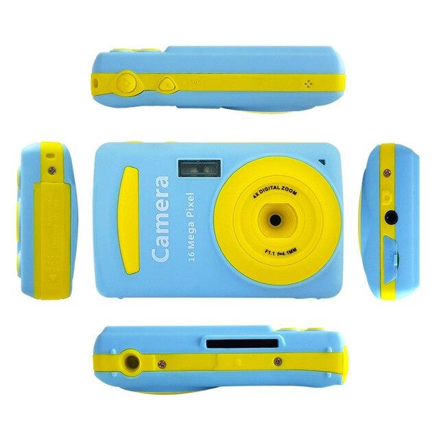Mini 16MP Digital Camera Multi colored Video Camera 720P HD Camcorder Mini Video Camera 2.4 Inch Best Gift For Children Kids