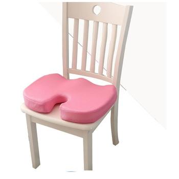 Cojín para asiento de espuma de memoria de viaje cojín para silla  ortopédico cojín para oficina de coche caderas trasero coxis protección  saludable ...