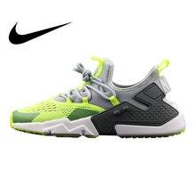 6b03570b34b92 Nike Air Huarache Drift BR 6 Men s Running Shoes Green Black Breathable  Non-slip