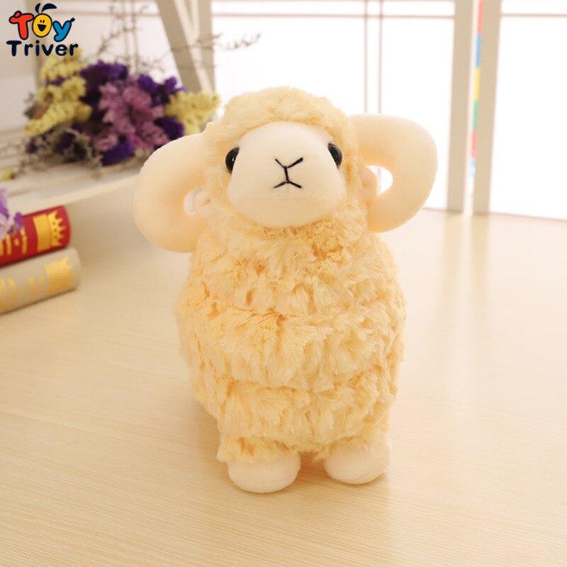 Simulation Plush Sheep Toy Stuffed Animal Lamb Goat Doll Toys Baby