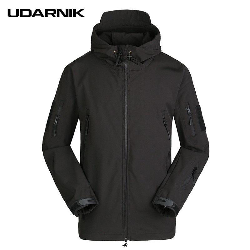 Hommes décontracté tortue cou noir vestes Zipper multicolore Camouflage manteaux coupe-vent imperméable hiver vêtements d'extérieur 226-326