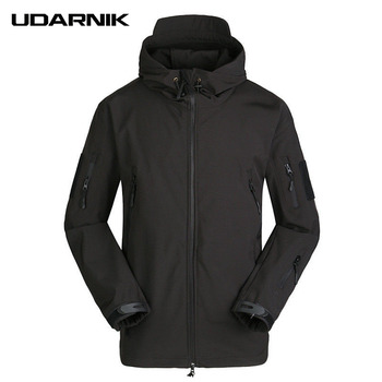 Men Casual Turtle Neck Black Jackets Zipper Multicolors Camouflage Coats Windproof Waterproof  Winter Sports Outwear 226-326