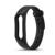 Schleimiges mode doppel farbe silikon handschlaufe für xiaomi mi band 2 smart band mit multi farben ersatz bügel-armbanduhr