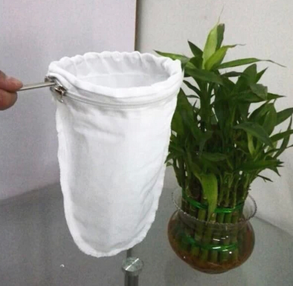 Хонг Конг мляко / чай / кафе филтър чанти с дръжка от неръждаема стомана джанта издърпайте кафе мляко бурканче