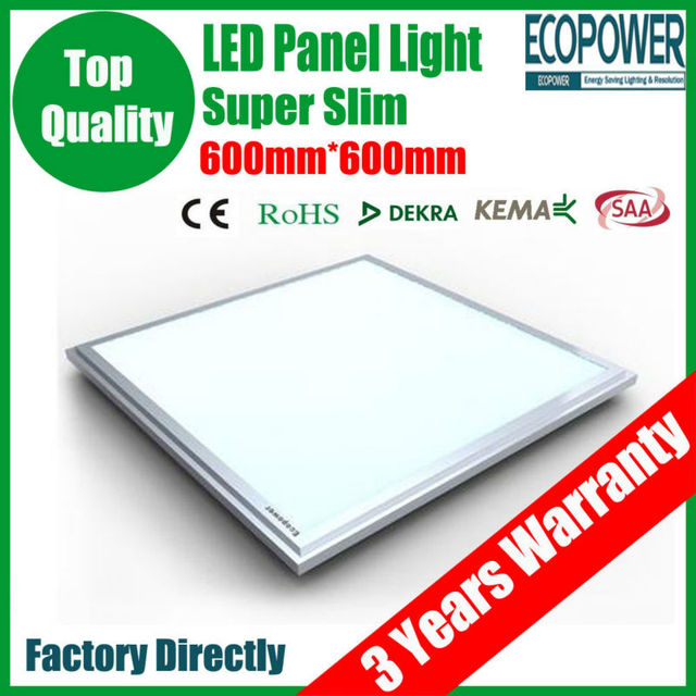 Meanwell dirver samsung LED Panel Light 600x600 85-265V 40W SMD 5630  Drop Ceiling Ultra Thin Flat Lamp+3 Years Warranty