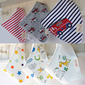 High Quality Moms Care Newborn Baby Bibs Waterproof Kids Girls And Boys Cotton Triangle Children Feeding Accessories 2-3 Pcs/set