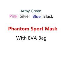 Envío de la gota Portátil Paquete Fantasma Entrenamiento Fitness Deporte Máscara de Buena Calidad Buena Calidad Con EVA Bolsa Envío gratuito