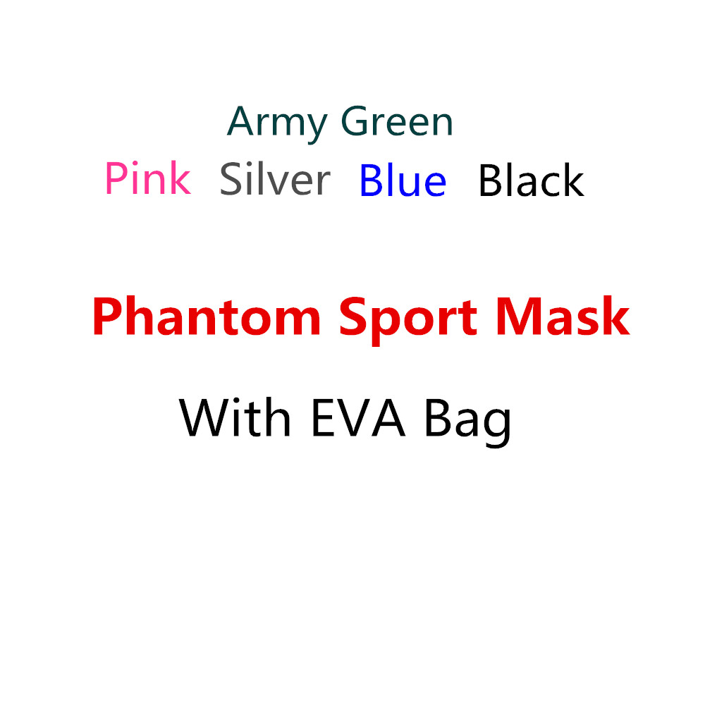 Portable Package Phantom Good Quality Training Sport Fitness Mask Good Quality Gift Package With EVA Bag 2016 newest elevation training mask 2 0 high altitude fitness outdoor sport 2 0 training mask	supplies equipment