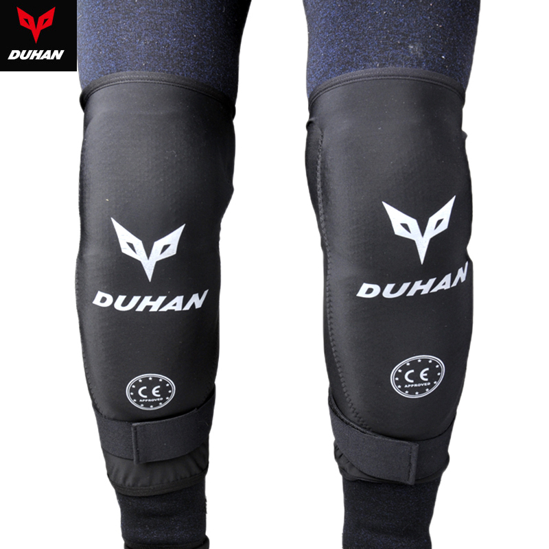 DUHAN Motorcycle Riding Knee Protector Off-road Racing CE Protection Kneepad Moto ...