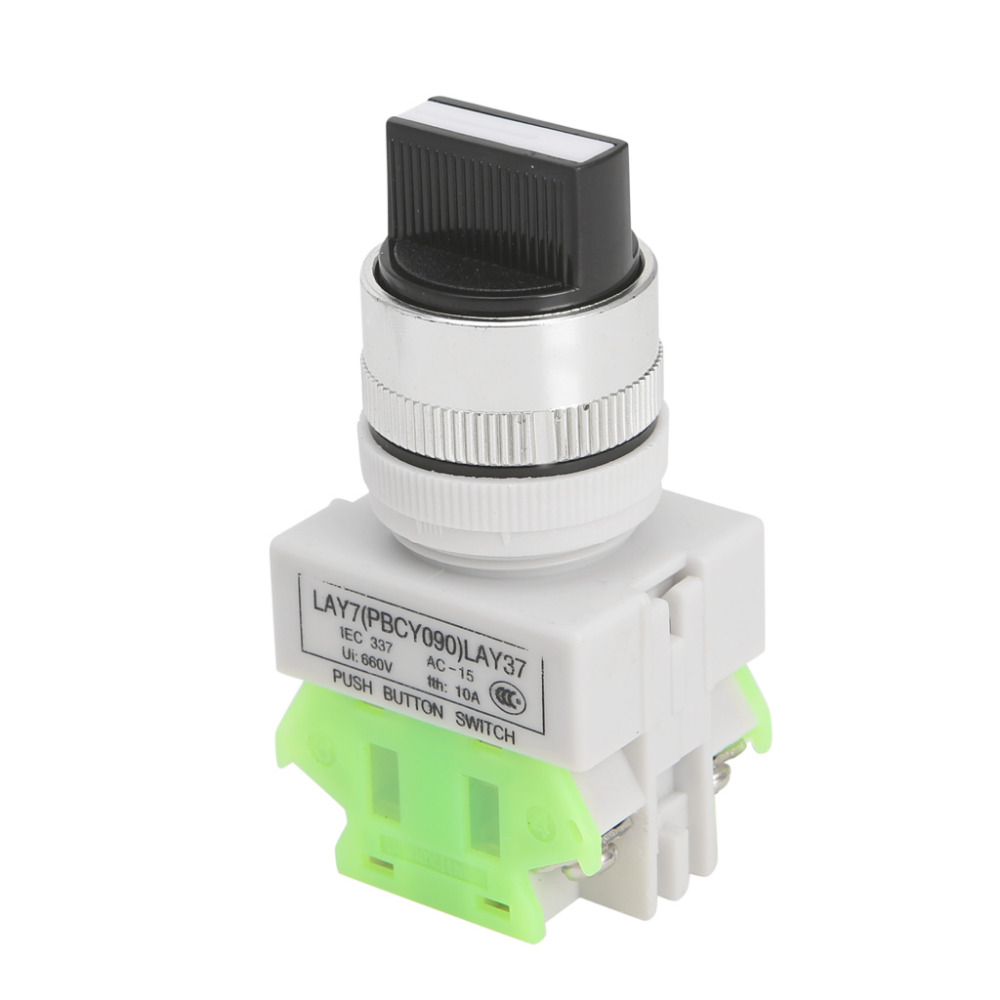 Three Position Selector Rotary Switch Power Ignition LAY7-20X/3 #S018Y# High Quality 2016year very hot sale rotary switch for pedestal fan 3 position rotary switch fan speed controller switch high quality switch