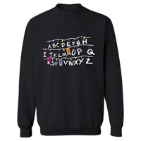 Stranger Things Sweatshirt New TV Show Men Cotton Clothes Stranger Things Hoodie Sweatshirts Fashion Capless Most