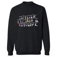 Stranger Things Sweatshirt New TV Show Men Cotton Clothes Stranger Things Hoodie Sweatshirts Fashion Capless Most
