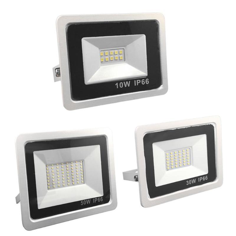 Projecteur imperméable IP66 de projecteurs de la lumière d'inondation 10 W 30 W 50 W de 10/36/64LED