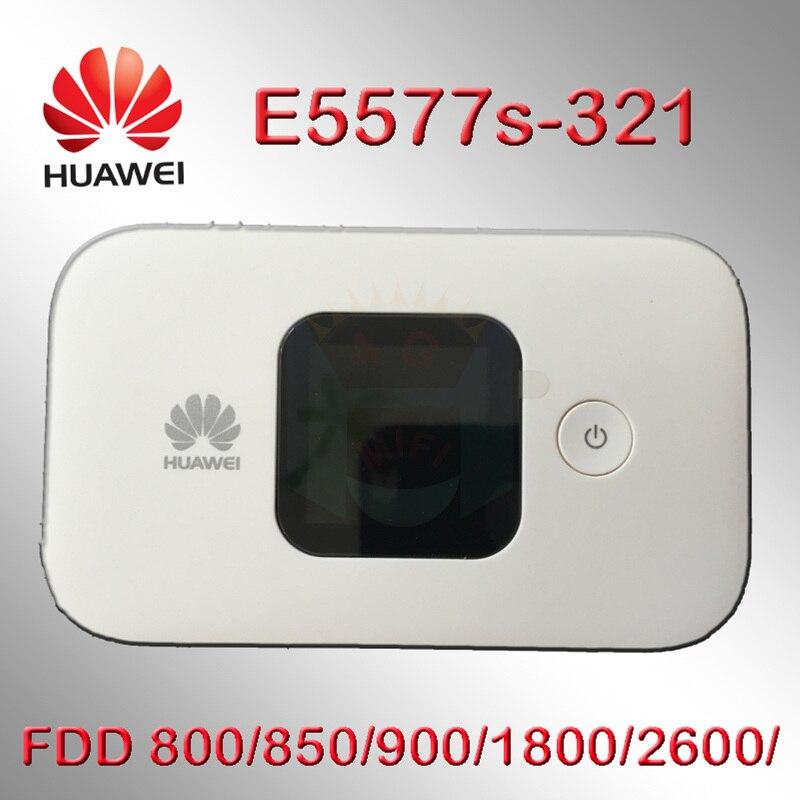 Débloqué huawei e5577 4g wifi routeur 4G LTE Mobile Hotspot routeur sans fil wifi poche mifi dongle e5577s-321 4g routeur carte sim