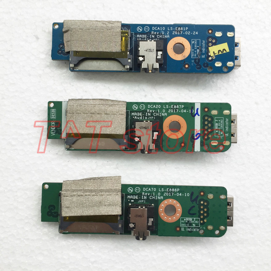 original for for Lenovo AIO PC 520-24IKL USB AUDIO SD CARD READER BOARD LS-E881P LS-E886P LS-E887P test good free shipping цена