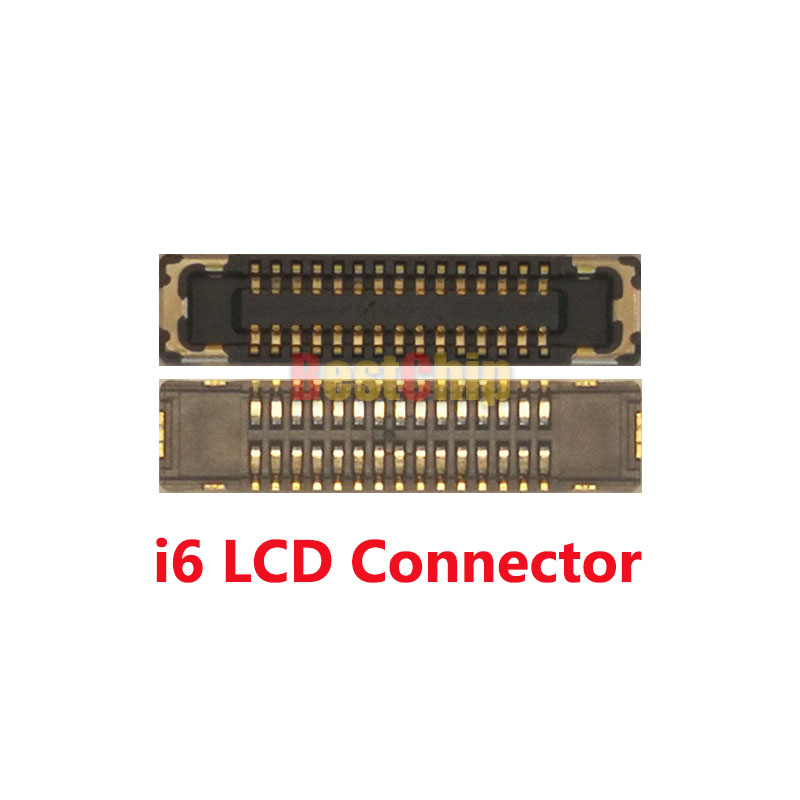 competitive price b4680 4dc86 US $11.9  20pcs/lot Original J2019 LCD Display screen FPC connector for  iPhone 6 6G 4. 7 inch on motherboard-in Integrated Circuits from Electronic  ...