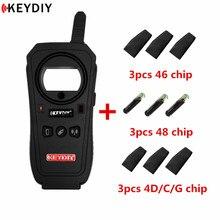 KEYDIY KD X2 двери гаража дистанционного генератора автомобильный ключ Частотный тестер 96 бит 48 транспондер чип копир без жетона с чипами