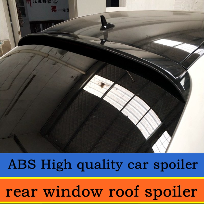 For <font><b>rear</b></font> window roof <font><b>spoiler</b></font> for <font><b>benz</b></font> W205 c63 C180 C200 C260 <font><b>C300</b></font> C74 high quality <font><b>spoilers</b></font> by primer or black paint color image