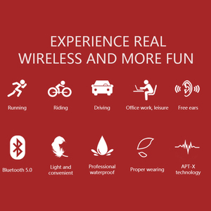 Image 3 - מקורי אוזניות Bluetooth 5.0 הולכה עצם אוזניות אלחוטי ספורט אוזניות דיבורית אוזניות תמיכת זרוק חינם