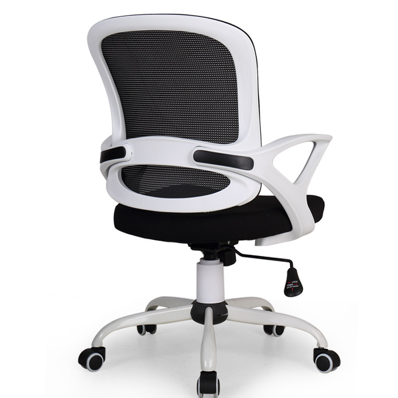 Bow Fashion Mesh Chair Office Conference Chair Household Dormitory Chair Lifted And Rotation With Armrest Chair Breathable Soft