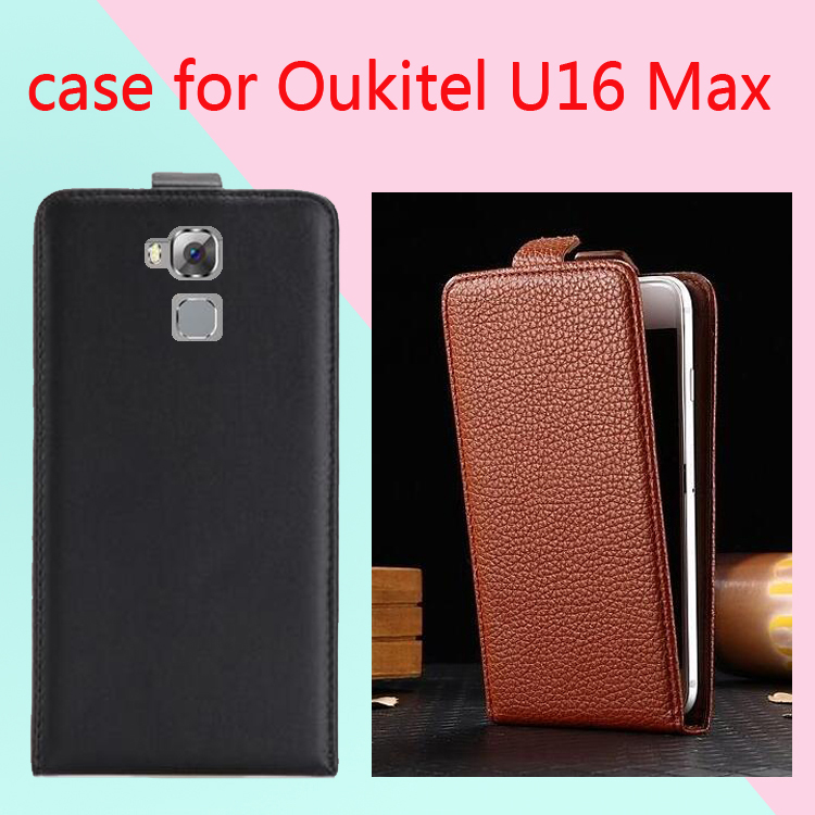 New High Quality phone case for Oukitel U16 Max Cases Cover Fundas Mobile Phone Bag Flip Up and Down Case