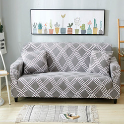 Floral Printing Sofa Cover Spandex Stretch Slipcovers Sofa Cover Removable Elastic All-inclusive Couch For Living Room 1 PC