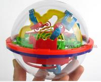 New 3D Magic Intellect Maze Ball Kids Children Balance Logic Ability Puzzle Game Educational Training Tools