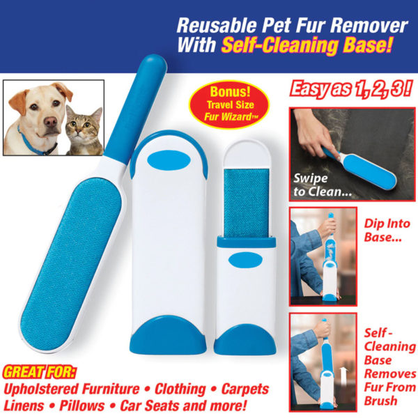 JORMEKL-Pet-Fur-Lint-Remover-with-Self-Cleaning-Base-Reusable-Magic-Dust-Brush-Set-Static-Electrostatic-1-600x600