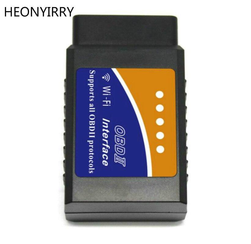 ELM327 OBD2 Bluetooth/WIFI V1.5 con PIC18F25K80 de diagnóstico del coche OBD 2 ELM 327 escáner Wi-Fi para Android/IOS /Windows Diesel 12 V
