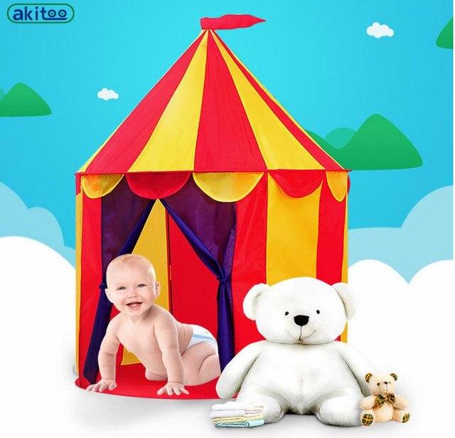 Conosciuto Nuovo arrivo akitoo circo Per Bambini kid Castle Tenda Bambino  EH97