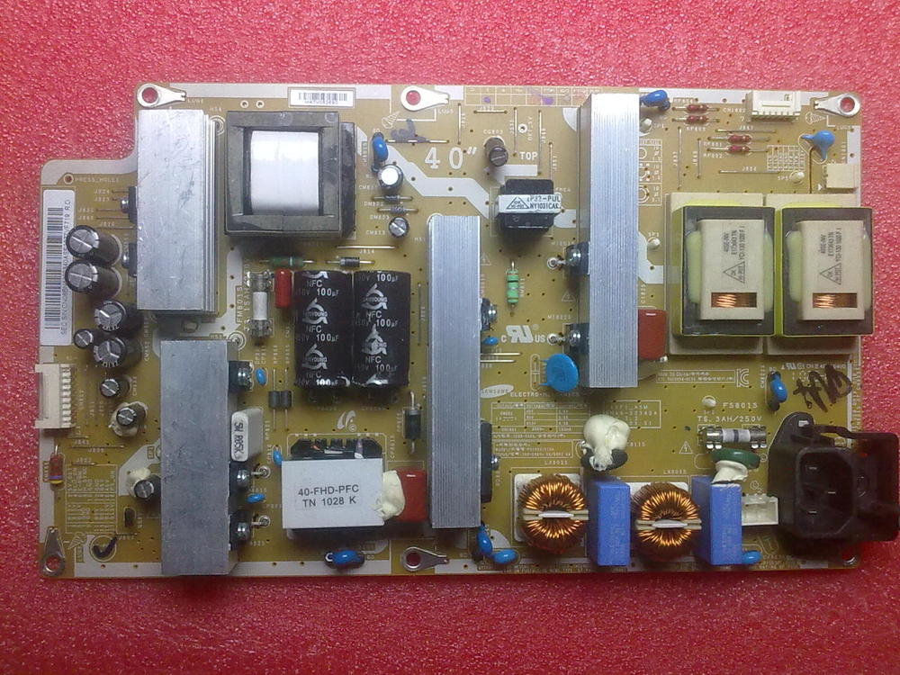 BN44-00340A I40F1-ASM For Samsung LCD Power Board p2632hd asm pslf121401a bn44 00338a power board