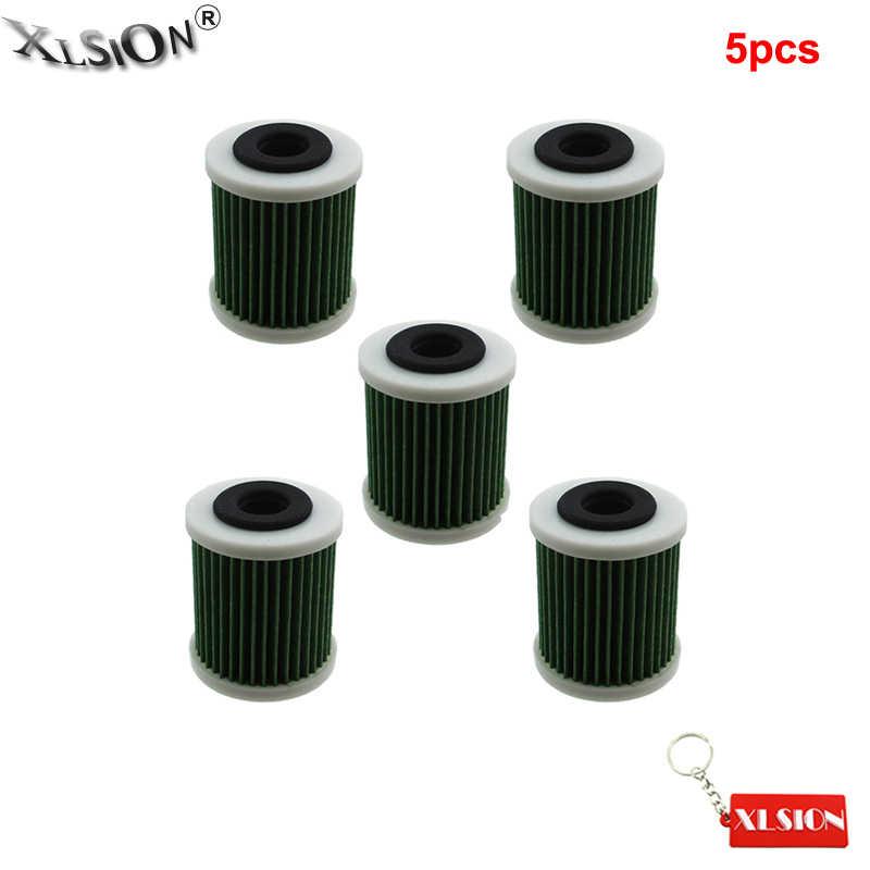 XLSION Aftermarket 5Pcs Fuel Filter For Yamaha F150, LF150, VF200, VF225,  VF250 # 6P3-WS24A-01-00 6P3-24563-00-00