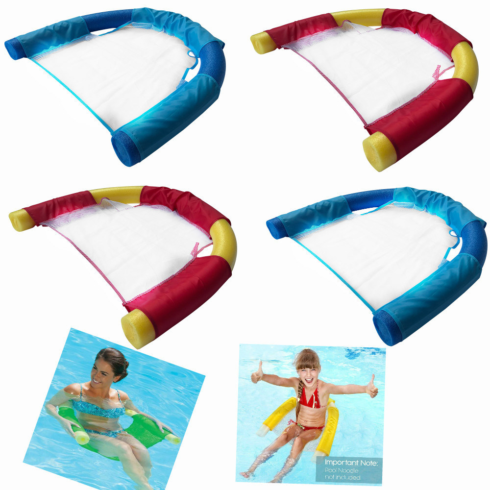 Swimming Water Fun Toys Summer Amazing Foam lounger Chair floating chair Ride-ons water hammock Toy for Kids Adult Pool Rafts цена