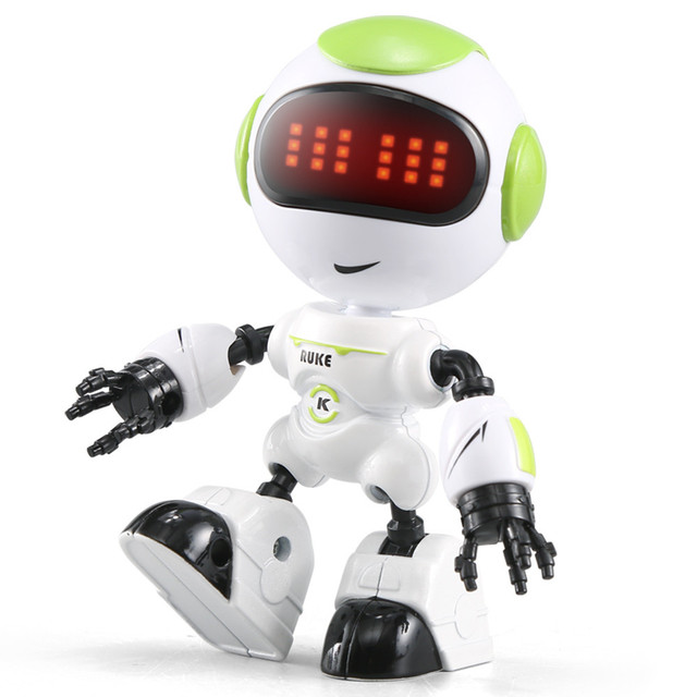 JJRC R8 Sensing Touch Multi-function Music Smart Mini Alloy Robot Kids Toy Gift 2018 Brusting Christmas Gifts Electronic