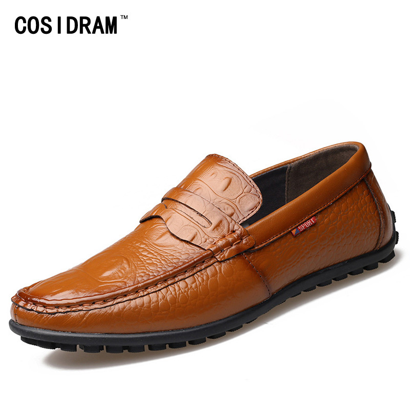 Spring Autumn Men Loafers Genuine Leather Casual Men Shoes Fashion Driving Shoes Moccasins Flats Gommino Male Footwear RMC-320 zapatillas hombre 2017 fashion comfortable soft loafers genuine leather shoes men flats breathable casual footwear 2533408w