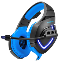 Pemenol PS4 Headset HD Stereo Gaming Headphones K1 B Game Earphones Casque With Mic For PC Mobile Phone New Xbox One Computer